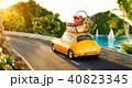 車 自動車 トランクのイラスト 40823345