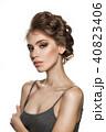 女性 若い 若の写真 40823406