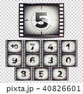 写す 数 数字のイラスト 40826601