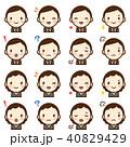 ベクター セット 表情のイラスト 40829429