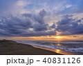 朝日 白里海岸 九十九里浜の写真 40831126