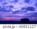 朝焼け 白里海岸 九十九里浜の写真 40831127