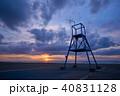 白里海岸 九十九里浜 風景の写真 40831128
