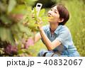 スマホ 女性 携帯の写真 40832067