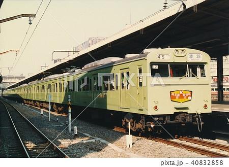 国鉄 103系埼京線池袋駅 40832858