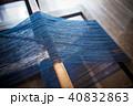 織物 機織り 織り機の写真 40832863