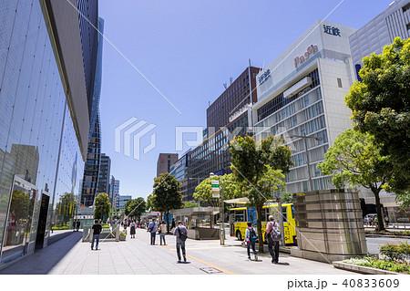 名古屋駅前都市風景 ミッドランドスクエア前 近鉄パッセ 名鉄グランドホテル 40833609