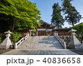 新緑の高麗神社 境内 埼玉県日高市 40836658