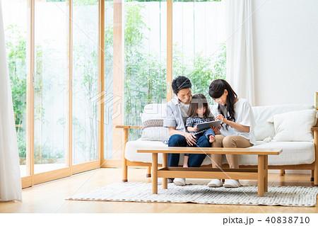 若い家族 40838710