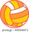 ビーチバレーボール イラスト 40838871