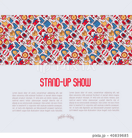 Stand up comedy show concept 40839685