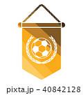 ペナント ベクトル アメリカンフットボールのイラスト 40842128