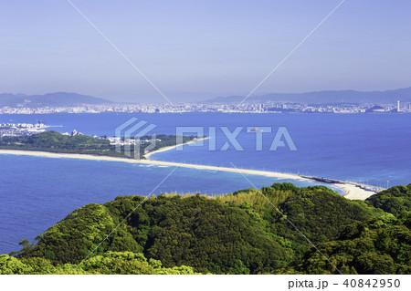 志賀島の潮見展望台から見た風景 40842950