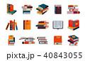 文学 ライブラリ ベクタのイラスト 40843055