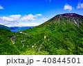 初夏の明知平から見た男体山と華厳の滝。そしてその奥に中禅寺湖。 40844501