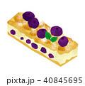 ケーキ スティック スティックケーキのイラスト 40845695