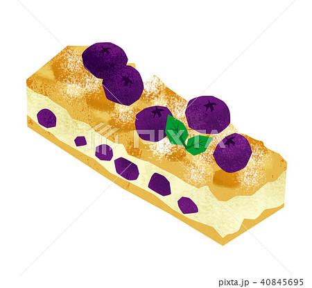 スティックケーキ ケーキ イラスト 40845695