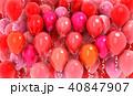 バルーン 風船 赤色のイラスト 40847907