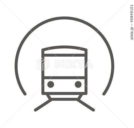アイコン シリーズ(スリム・グレー) 40849101