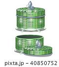 枝編み細工 ベクトル バスケットのイラスト 40850752