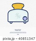 トースター アイコン イコンのイラスト 40851347