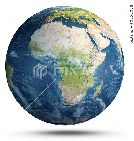 Planet Earth weather. 3d rendering 40853068