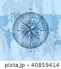 コンパス 航海 地理のイラスト 40859414
