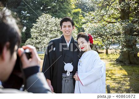 和装結婚式 写真撮影 40861672