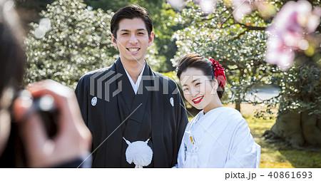 和装結婚式 写真撮影 40861693