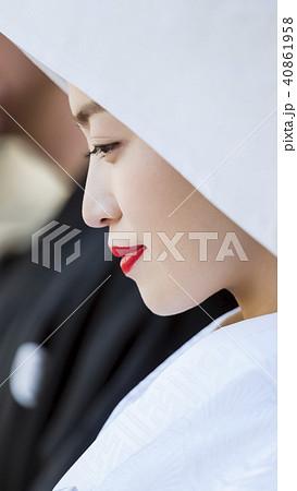 和装結婚式 花嫁 40861958