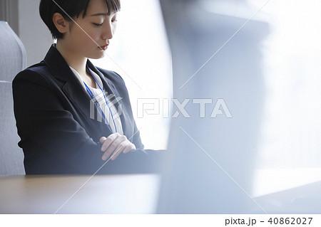 ビジネスウーマン 会議室 40862027