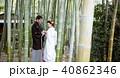 和装結婚式 新郎新婦 40862346