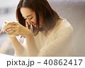 ライフスタイル ティータイム 紅茶の写真 40862417