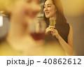 女性 パーティー シャンパン 40862612