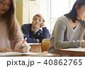 外国人 男子 学生の写真 40862765