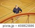 バスケットボール 男性 シュート 40862886