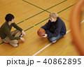 バスケットボール 男性  40862895