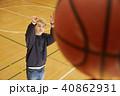 バスケットボール 男性 シュート 40862931