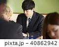 男子 高校生 学生の写真 40862942