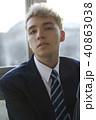 人物 男子 高校生の写真 40863038