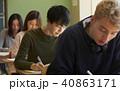 男子 学生 授業の写真 40863171