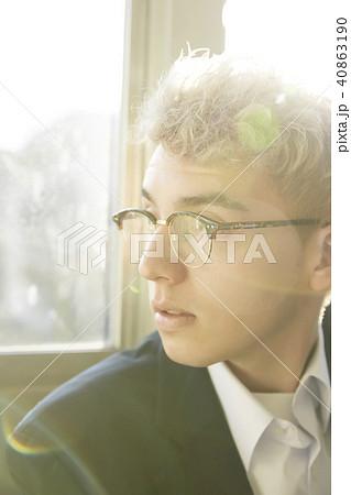 外国人 男子高生 放課後 ポートレート 40863190