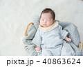 赤ちゃん 新生児 赤ん坊の写真 40863624