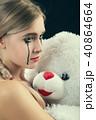 女の子 少女 女の写真 40864664