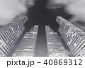 都市 くも 雲の写真 40869312