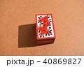 札 カード 遊びの写真 40869827