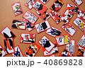 札 カード 勝負の写真 40869828