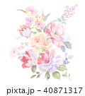 花 フラワー お花のイラスト 40871317