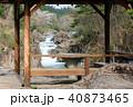 厳美渓 渓谷 春の写真 40873465