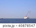 大阪港 海 フェリーの写真 40878547
